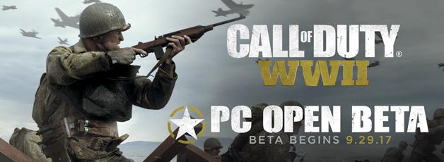 【CoD:WW2】Call of Duty®: WWIIのオープンβが9月29日から開催!無料プレイが可能,参加者には特典も