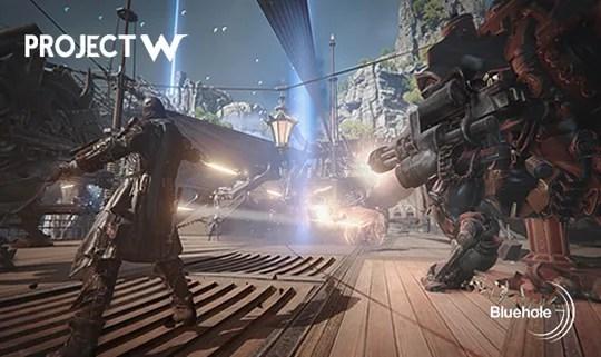 【Project W】Bluehole新作MMORPG『Project W』が11月に行われる韓国ゲームイベント「G-STAR」にて発表か