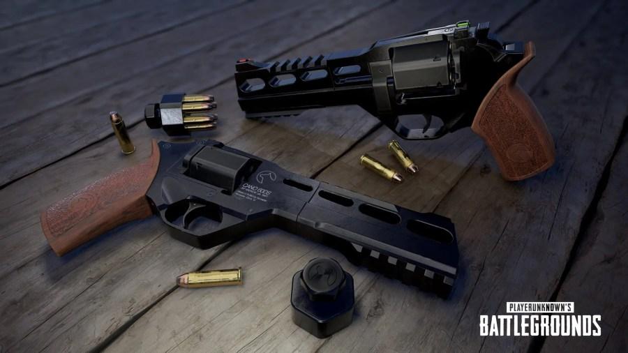 【PUBG】新武器「R45」のイメージ画像が公開,砂漠マップの全地域で通常入手が可能
