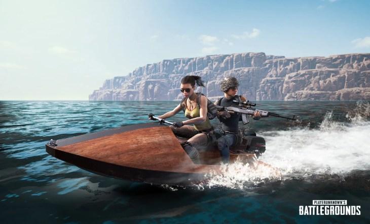 【PUBG】水上バイク「Aquarail」のイメージ画像が公開,既存マップと新マップの両方で登場予定
