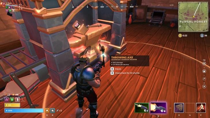 【Realm Royale】鍛冶場(Forge)の使い方や必要材料を解説。レジェンダリー等級の武器や防具、アビリティの入手方法