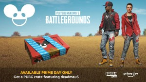 【PUBG】Twitch Prime会員特典:24時間限定で「DEADMAU5 Crate」配布中。7種の限定スキンを入手可能