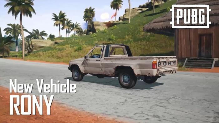 """【PUBG】4×4マップ""""Sanhok""""に新たな車両「Rony」と武器「QBU」が実装予定。紹介動画が2本公開"""