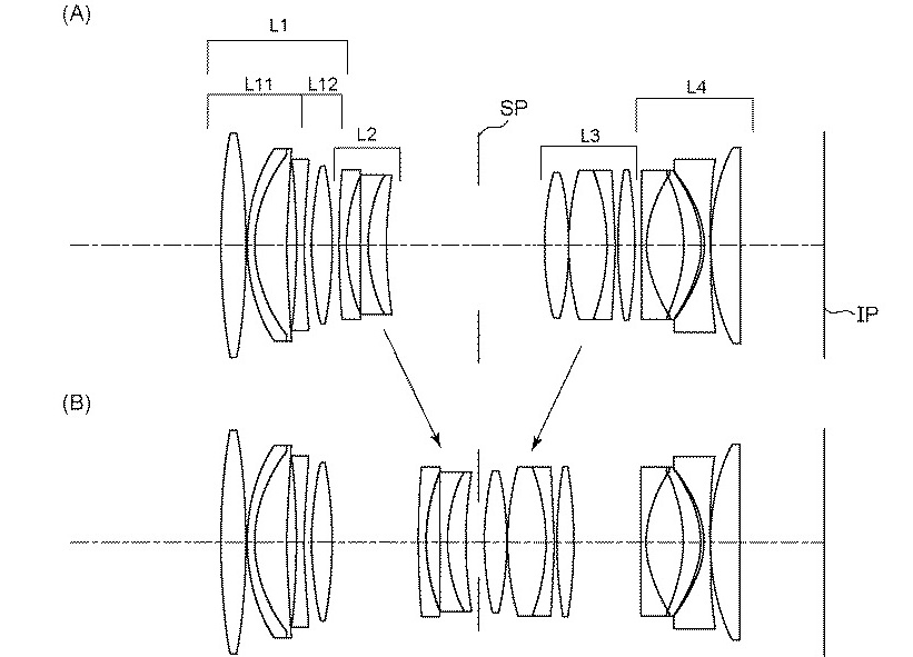 Canon patent details schematics for a possible RF 90mm F2