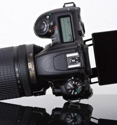 the nikon d7500 is a midrange aps c dslr that both sits below and borrows a lot from nikon s aps c flagship d500 including its 20 9mp sensor  [ 1200 x 866 Pixel ]