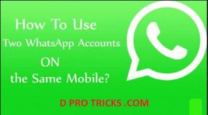 Use two whatsapp accounts in one mobile