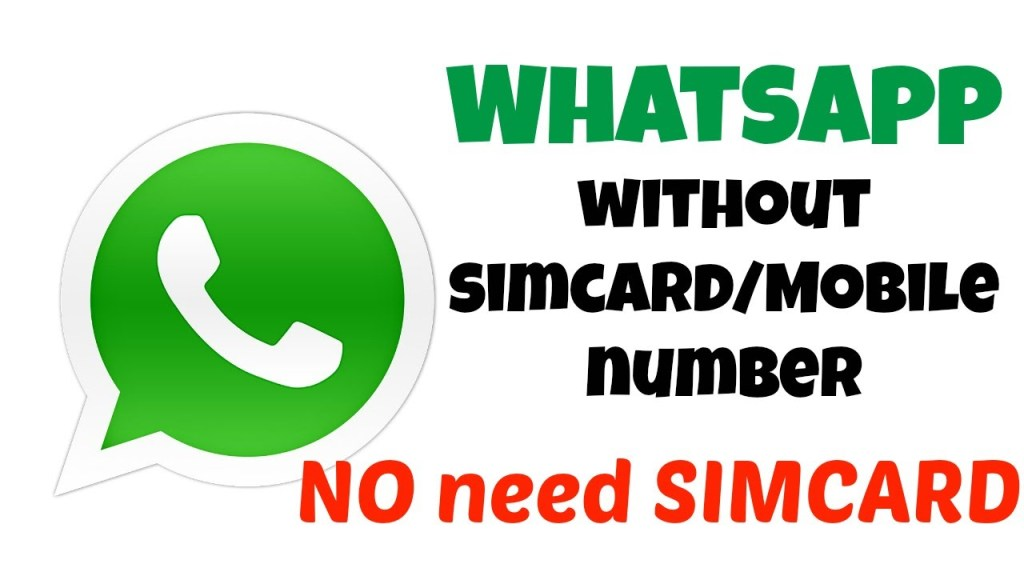 Use fake number whatsapp without sim card