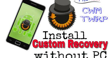 Custom recovery