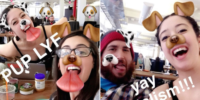How to Add Snapchat Filters 2