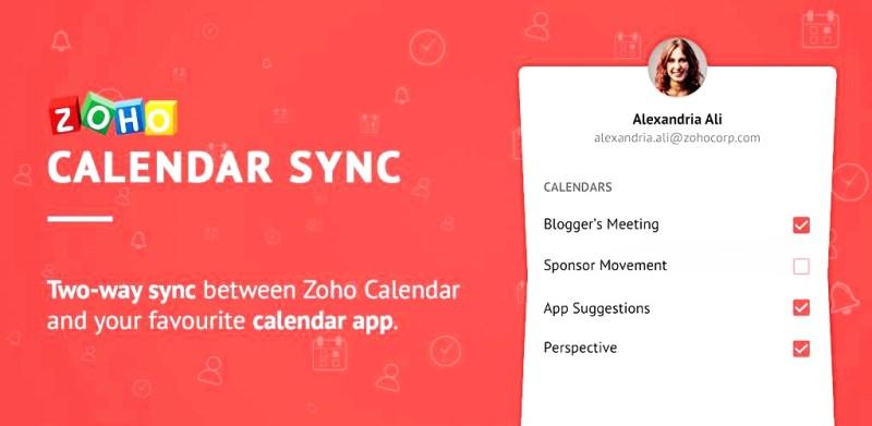 Zoho Calendar 2