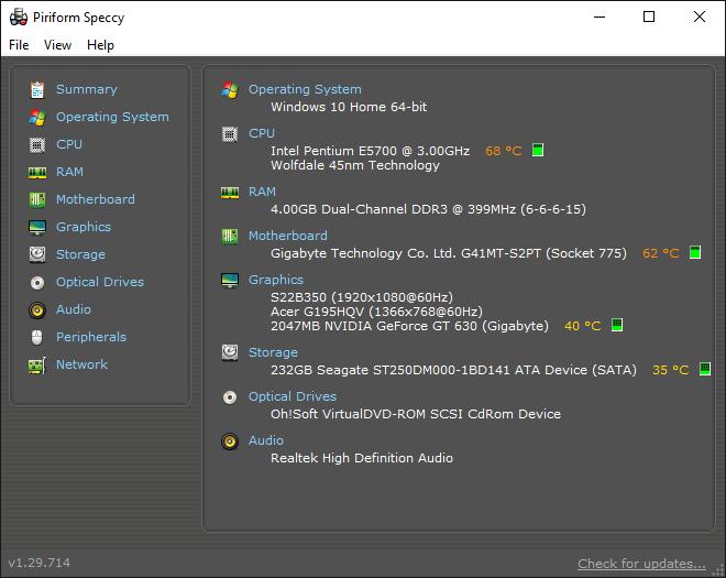 temp of computer