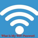 What is my wifi password