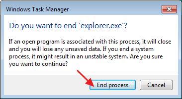 How to Restart Windows Explorer 6