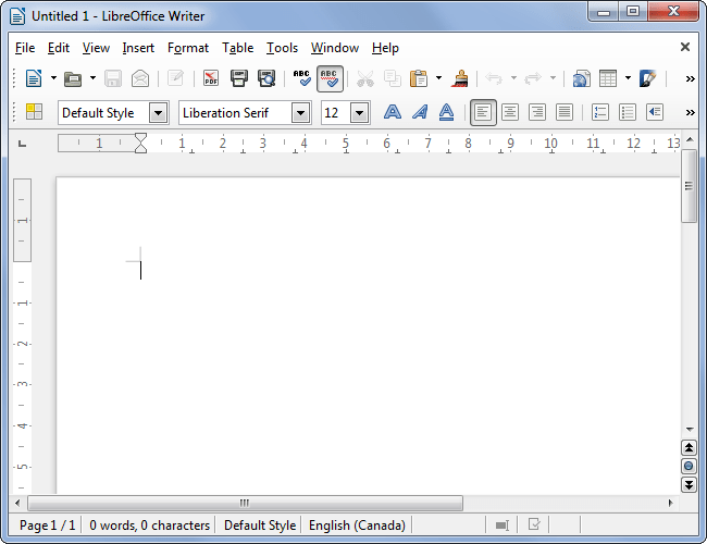 Libre office vs Open office 3