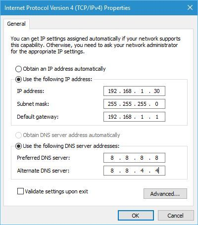 Wi-Fi doesn't have valid IP configuration 8