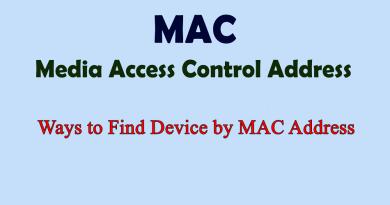 Ways to Find Device by MAC Address