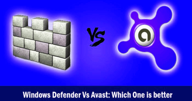Windows Defender and Avast Windows 10