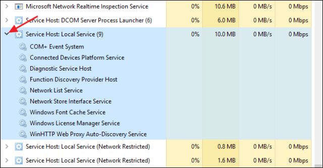 host process for windows services 3