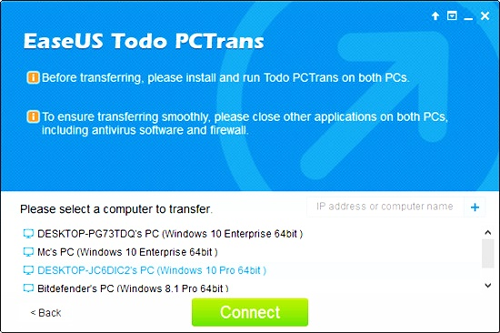 transfer files from pc to pc 9