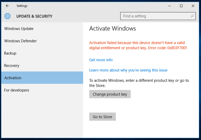 how to activate windows 10 product key 2018
