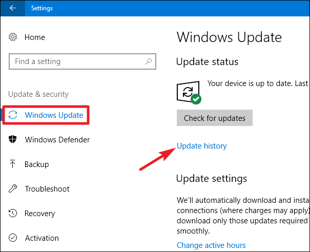 how to uninstall windows 10 update 10