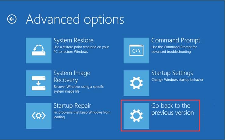 how to uninstall windows 10 update 13