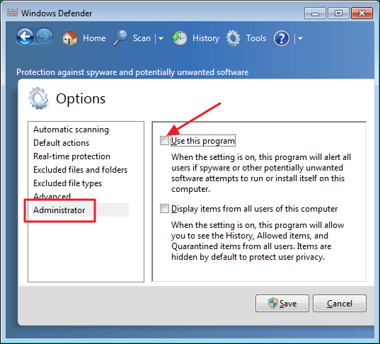 How to Disable Windows Defender 8