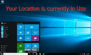 Solve Your Location is currently in Use Issue Easily