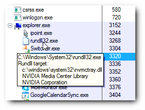 Rundll32.exe Windows Host Process (rundll32) 2
