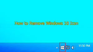 Simplest Ways to See How to Remove Windows 10 Icon