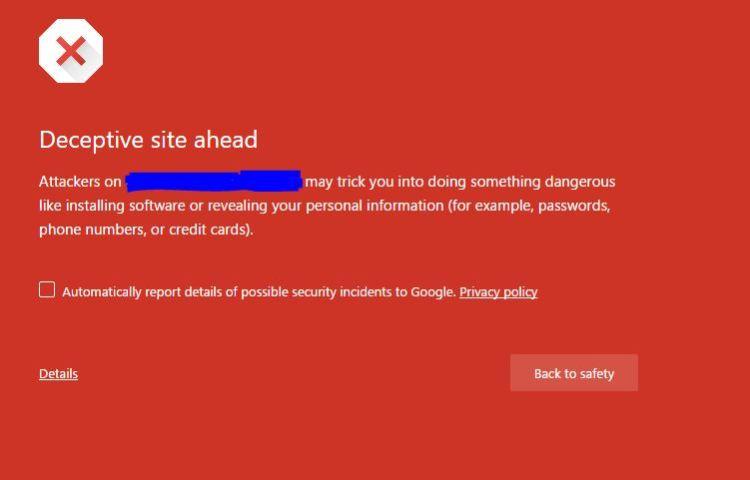 google-deceptive-site