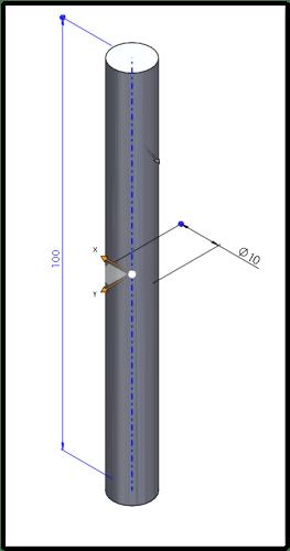 walec solidworks model 3d