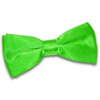 PRE TIED MENS WEDDING DICKIE BOW TIE APPLE GREEN   eBay