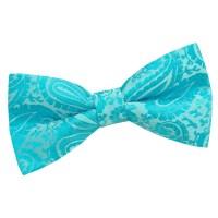Turquoise Bow Tie