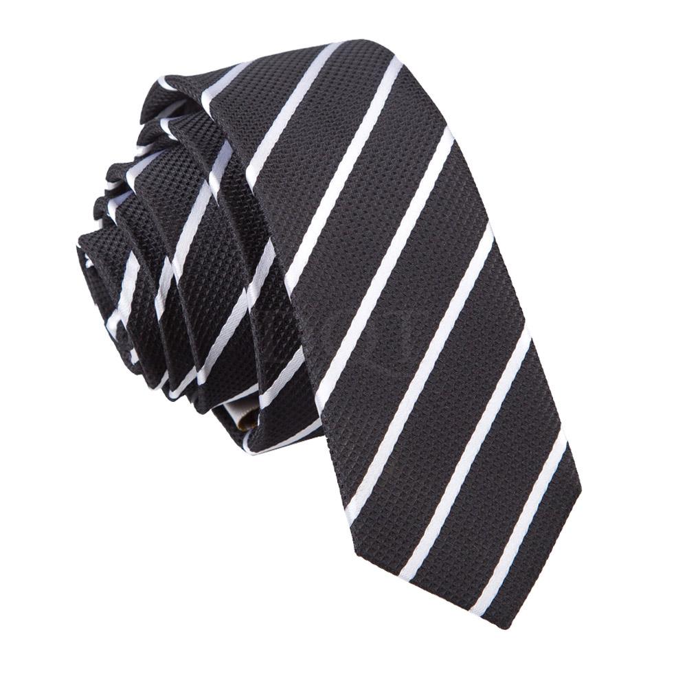 New DQT Single Stripe Skinny Tie