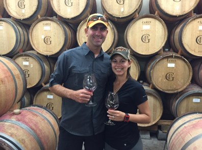 Barrel Tasting at Patricia Green Cellars