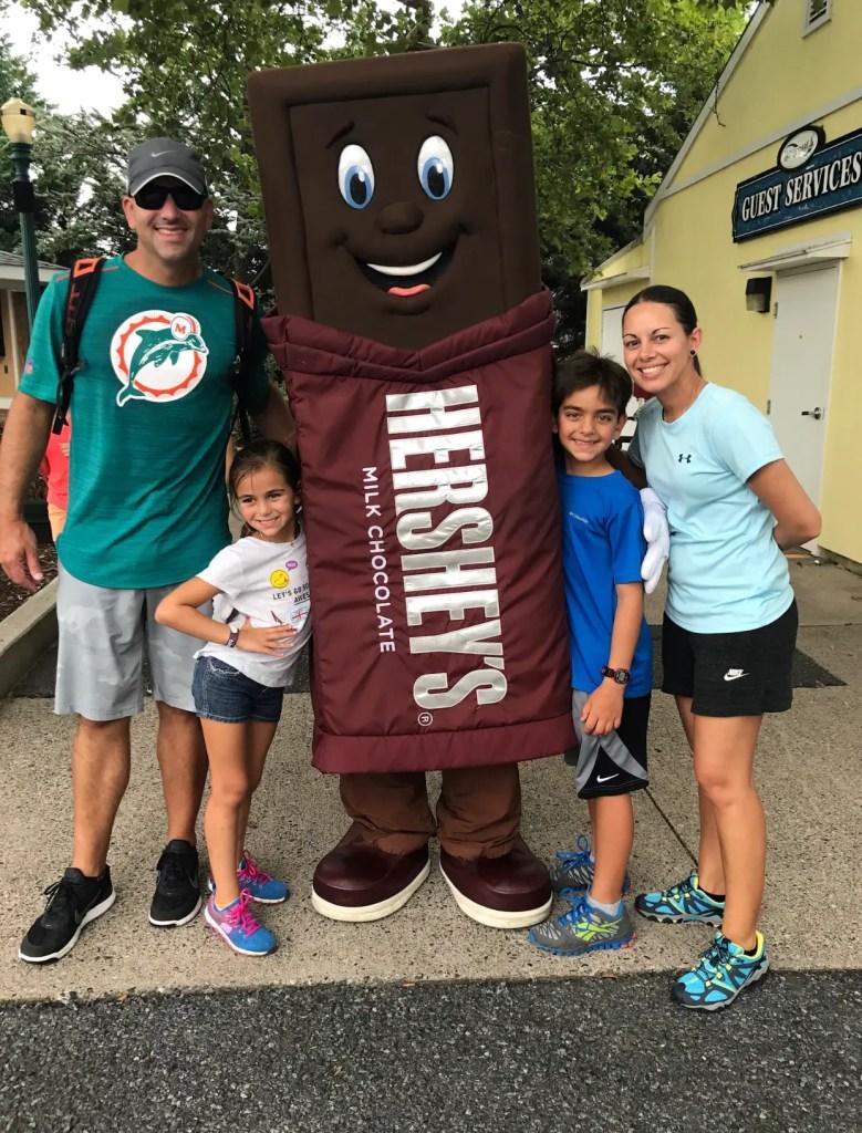 Hershey Park Family