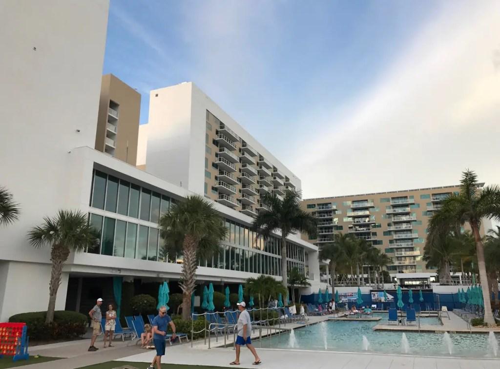 Marco pool area