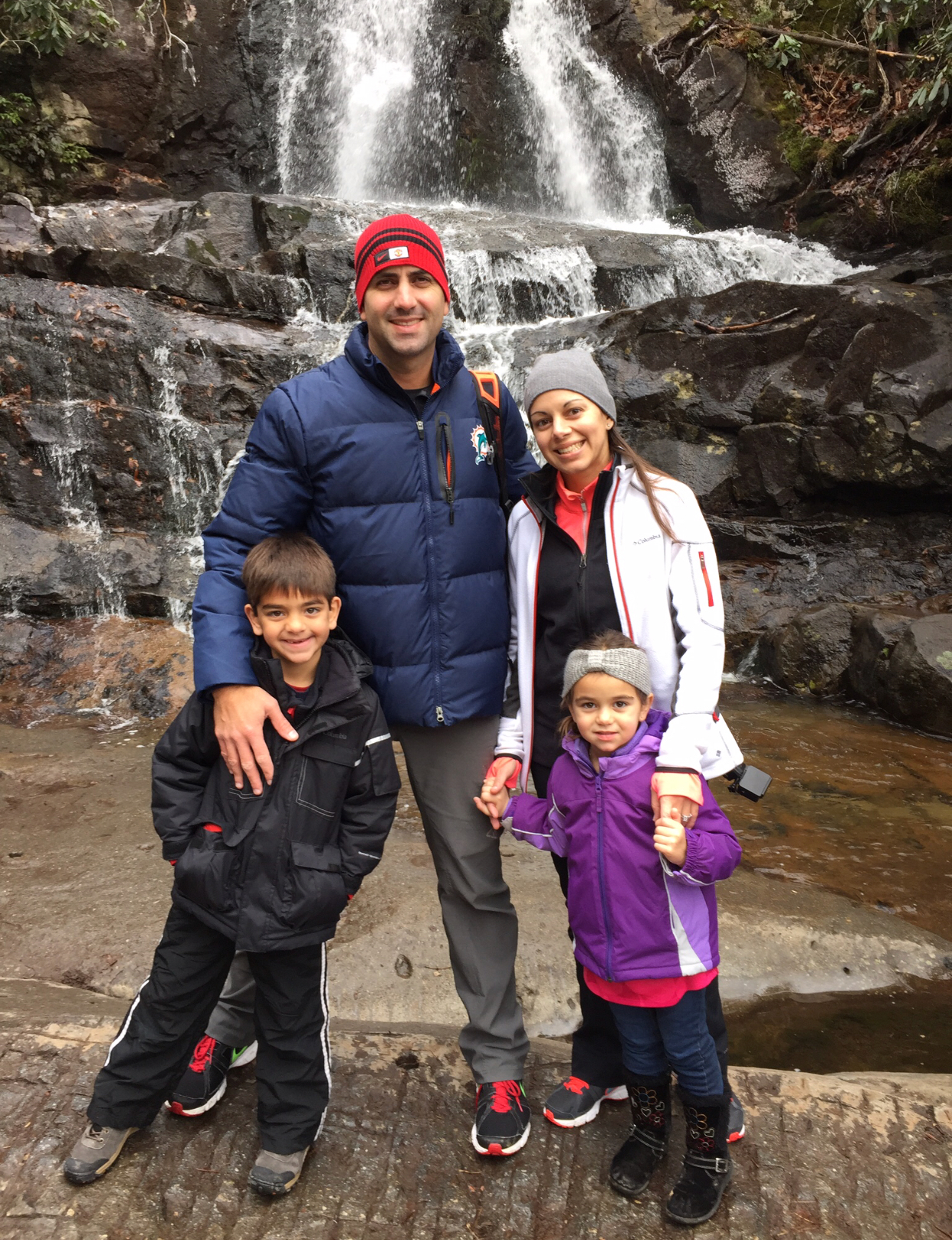Laurel Falls TN family