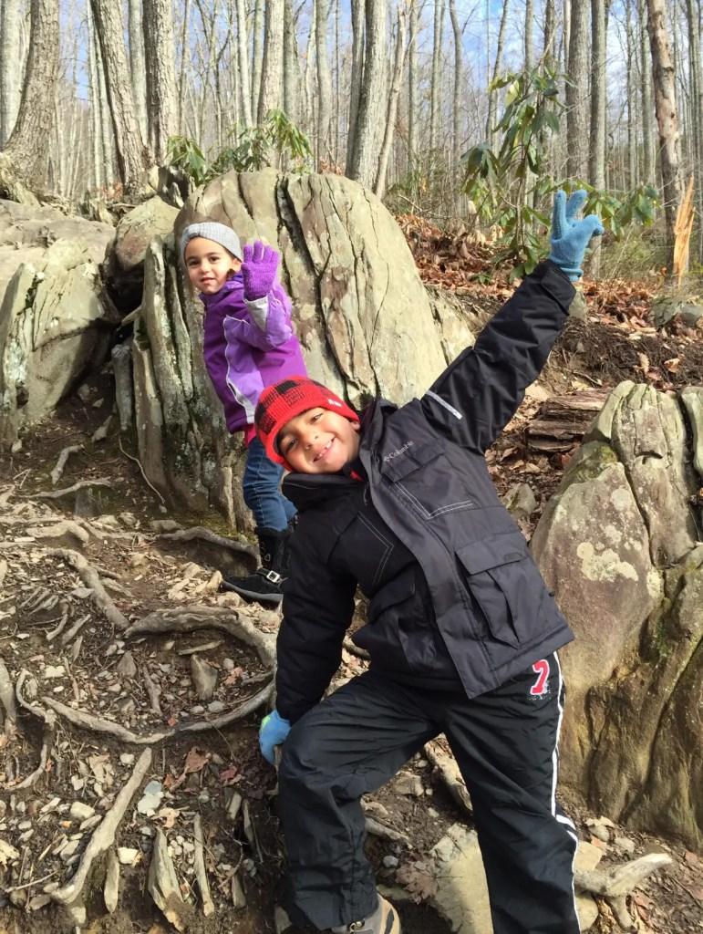 Smoky Mtn rock climbing