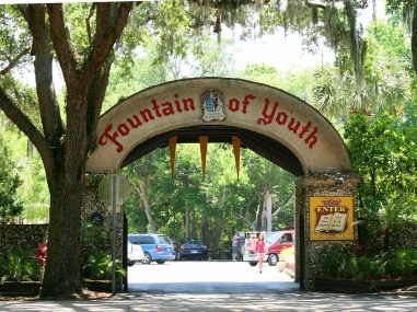 Fountain of Youth things to do in st. augustine with kids