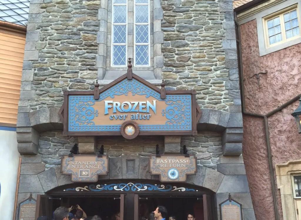 Frozen ride