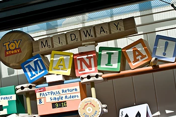 Toy Story Mania Fastpass Disney Hollywood Studios Fastpass