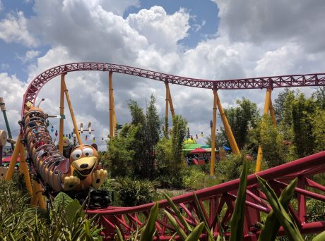 Disney Hollywood Studios Fastpass Slinky Dog Dash