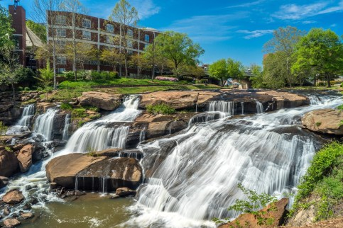 Falls Park on the Reedy Things to do with Kids in Greenville SC