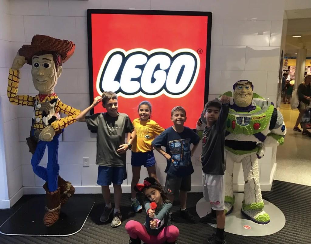 Disney Springs for Kids Lego
