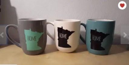 Home State mugs