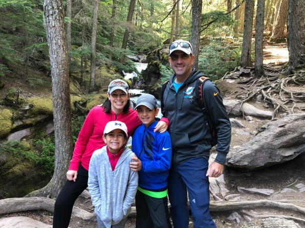 National Parks Vacation Glacier Family