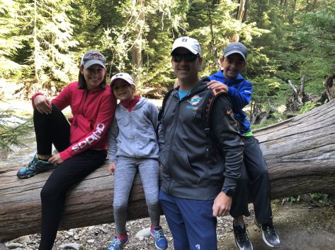 Glacier National Park with kids Fam 3