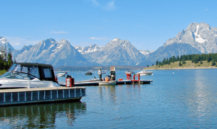grand teton to yellowstone jackson Lake cruise